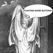 Famous Ghost Referrals - The Ghost of Floating Share Buttons